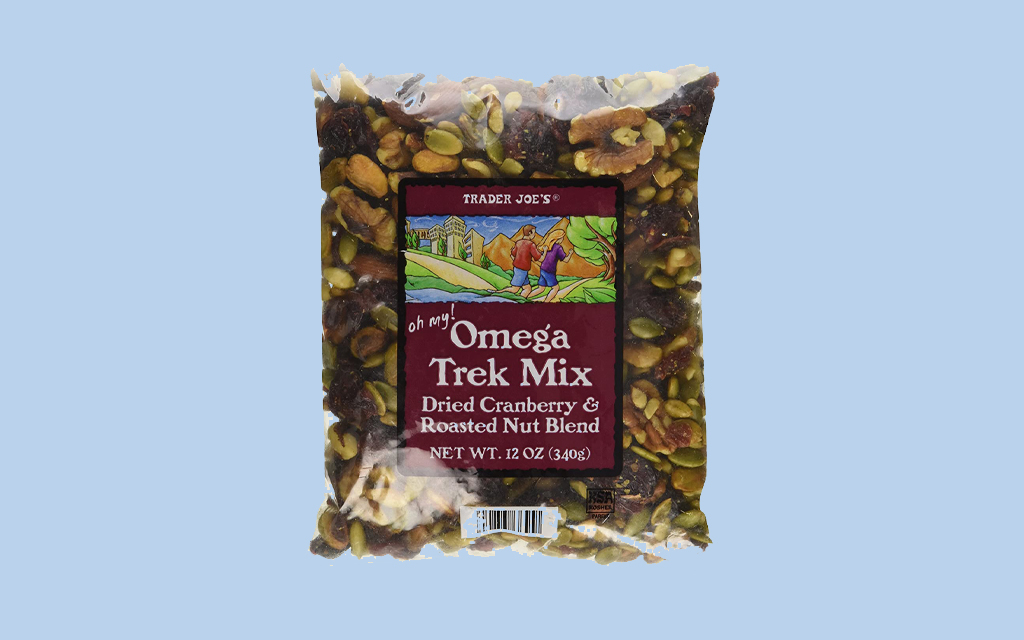 Trader Joe's Omega Trek Mix Trail Snacks