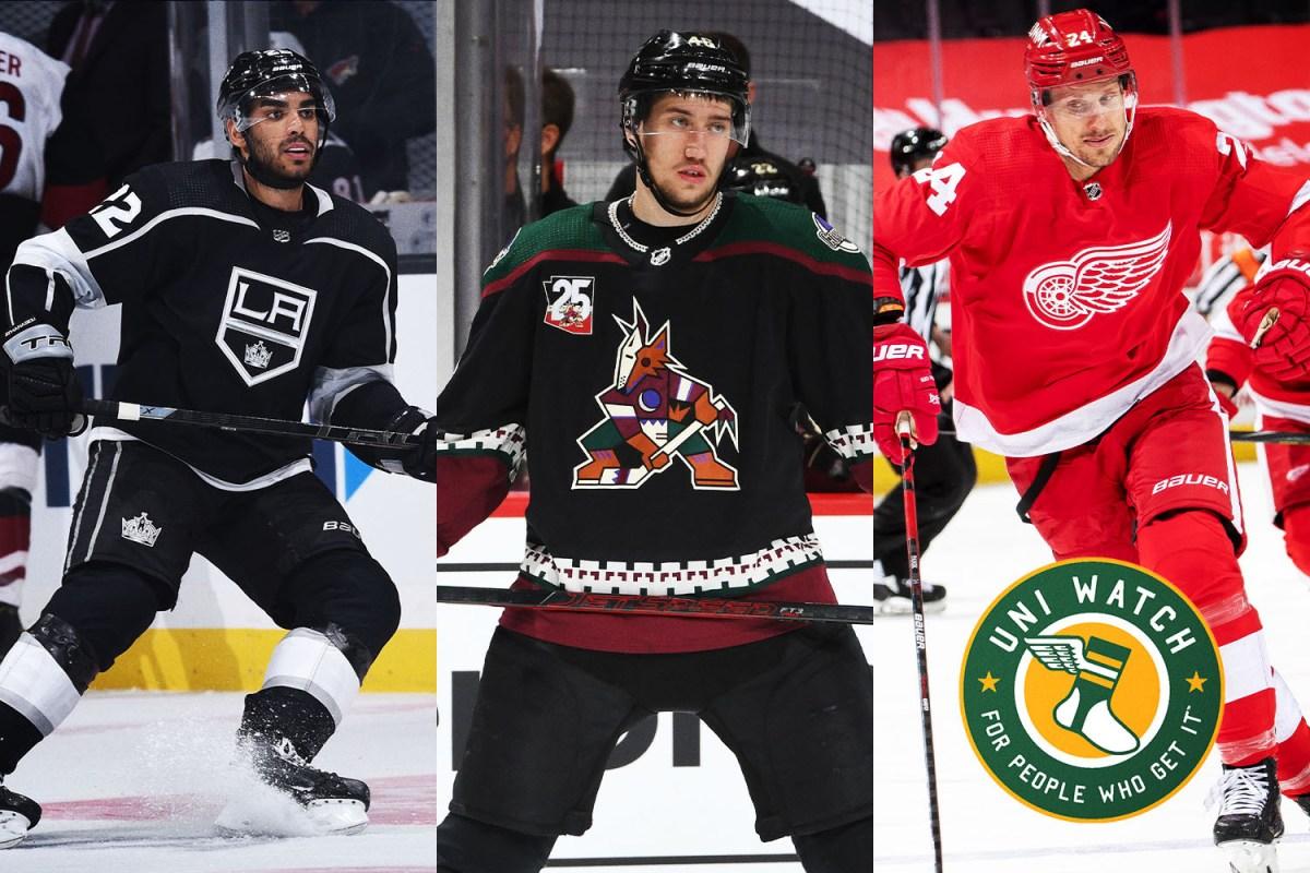 Uni Watch: A Definitive Ranking of All 31 NHL Uniform Sets