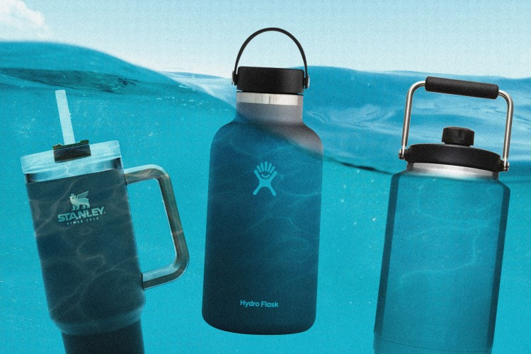 How Carrying a 64-Ounce Water Bottle Became a Lifestyle