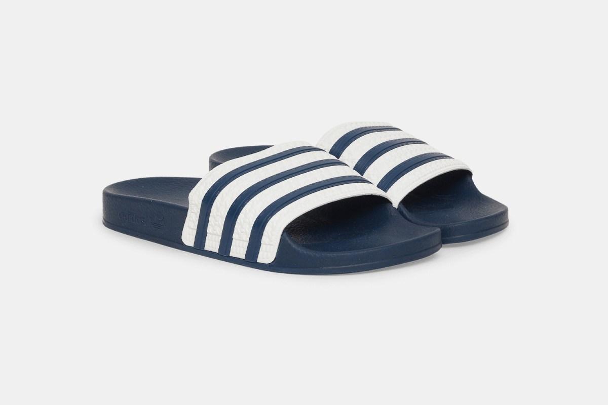 Adidas Adilette Slides in blue