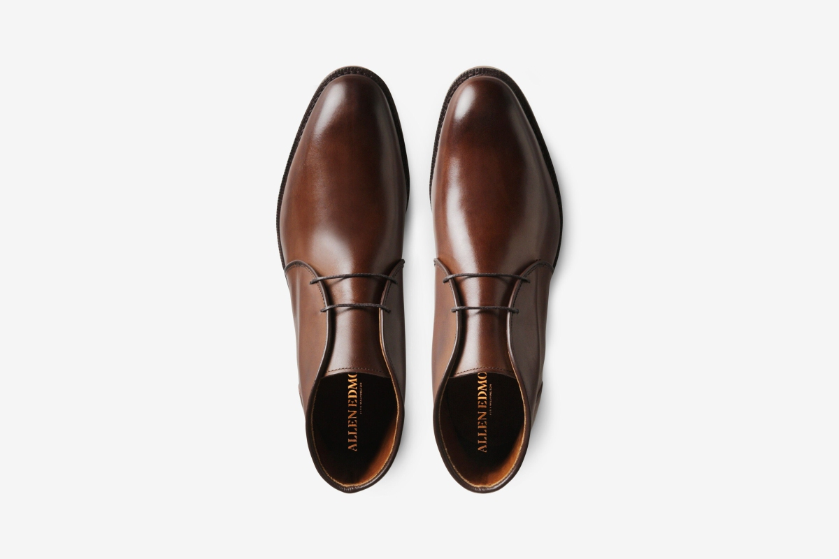 A pair of Williamsburg Chukka boots from Allen Edmonds. The Factory Seconds sale at this footwear store means you'll grab a pair of these at well over half off.