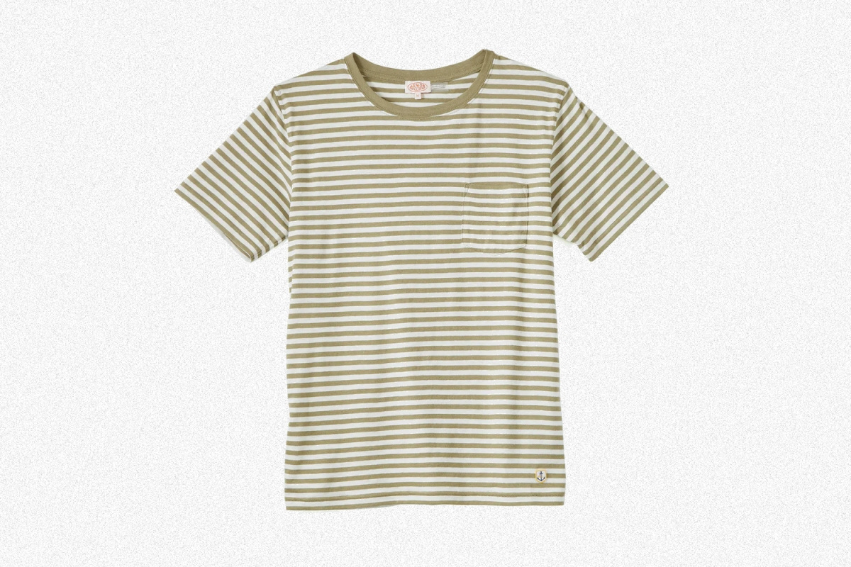 You can never go wrong with a striped tee.
