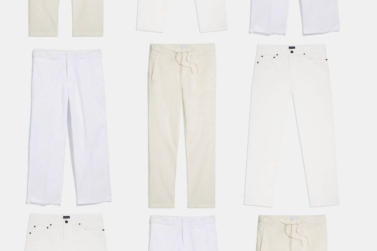 The Best White Summer Pants for Men