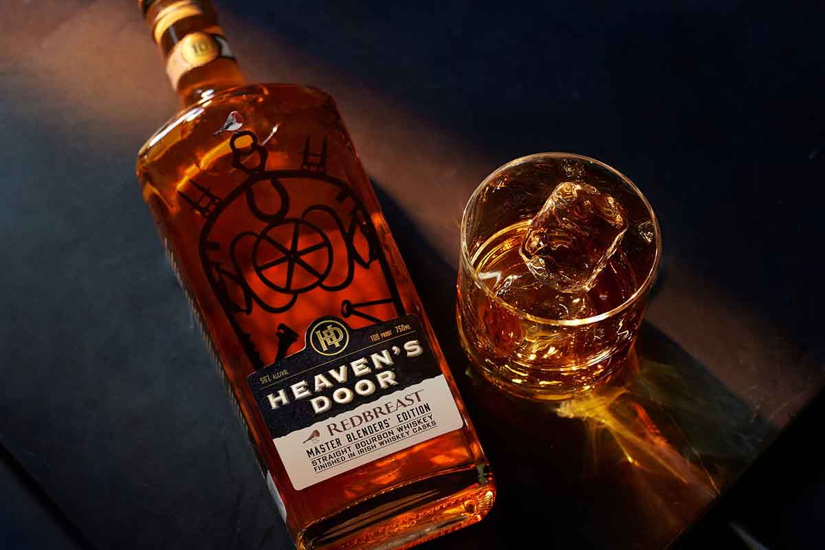 Heaven's Door Master Blenders' Edition, a collaboration with Redbreast Irish Whiskey