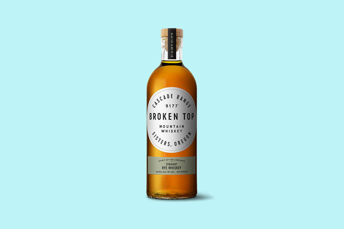 Broken Top Straight Rye Whiskey