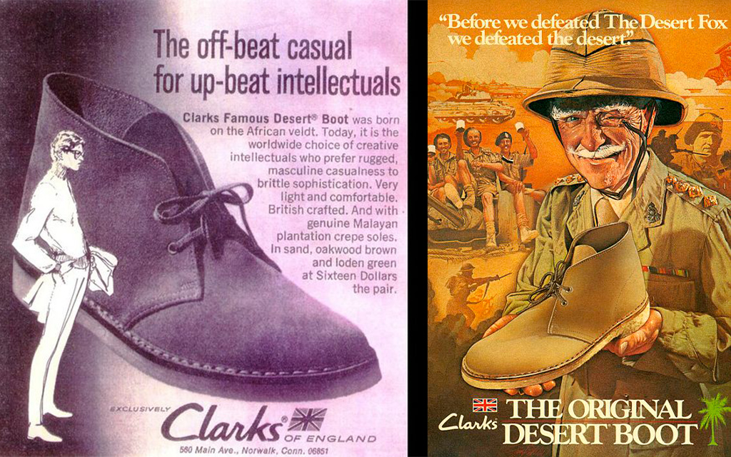 Vintage Clarks Originals Poster