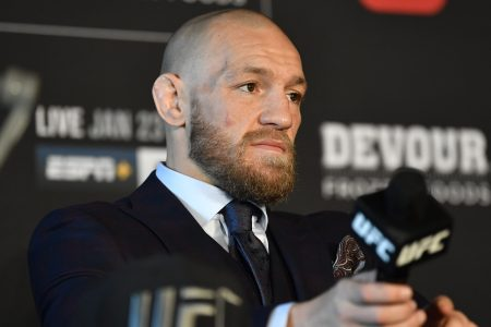 Conor McGregor at UFC 257