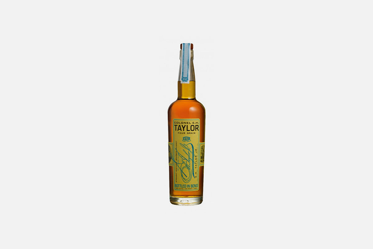 Colonel EH Taylor Four Grain bourbon - normally around $3300 in a store