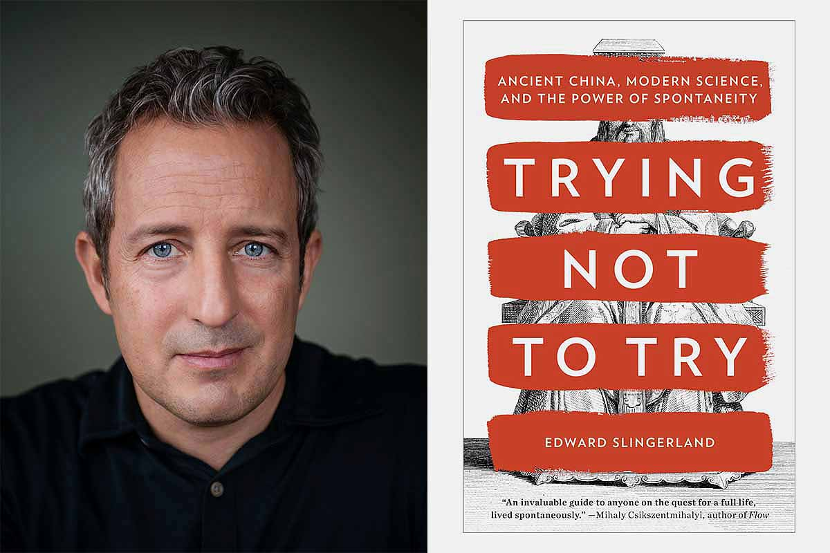 """Author Edward Slingerland and his previous work """"Trying Not to Try"""""""