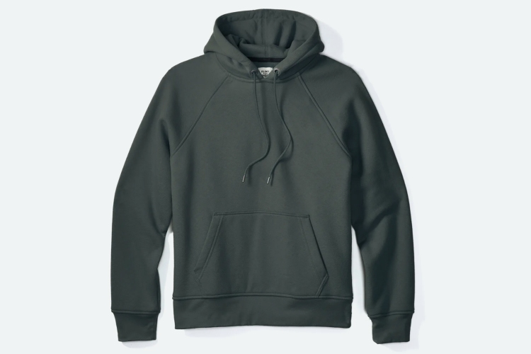 The 10-Year Pullover in Forest