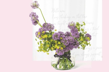 a sample bouquet from Floracracy