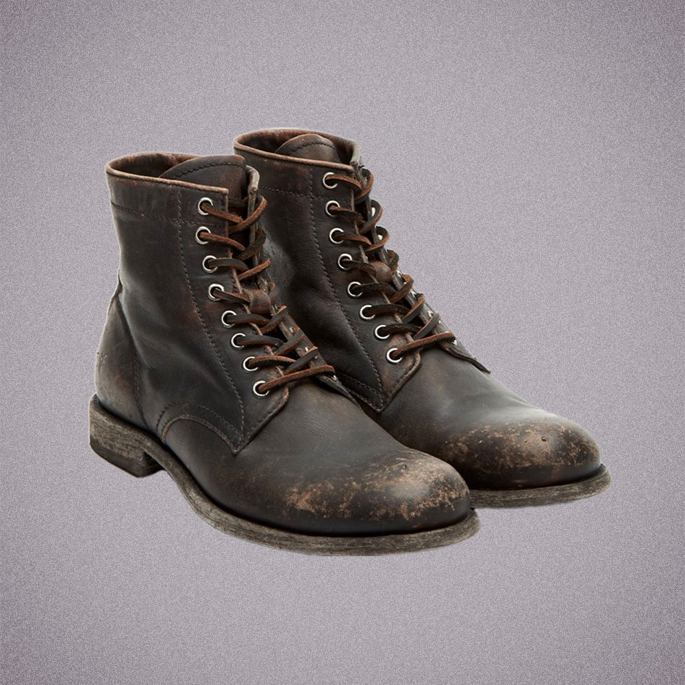 Frye Tyler Lace-Up Boots