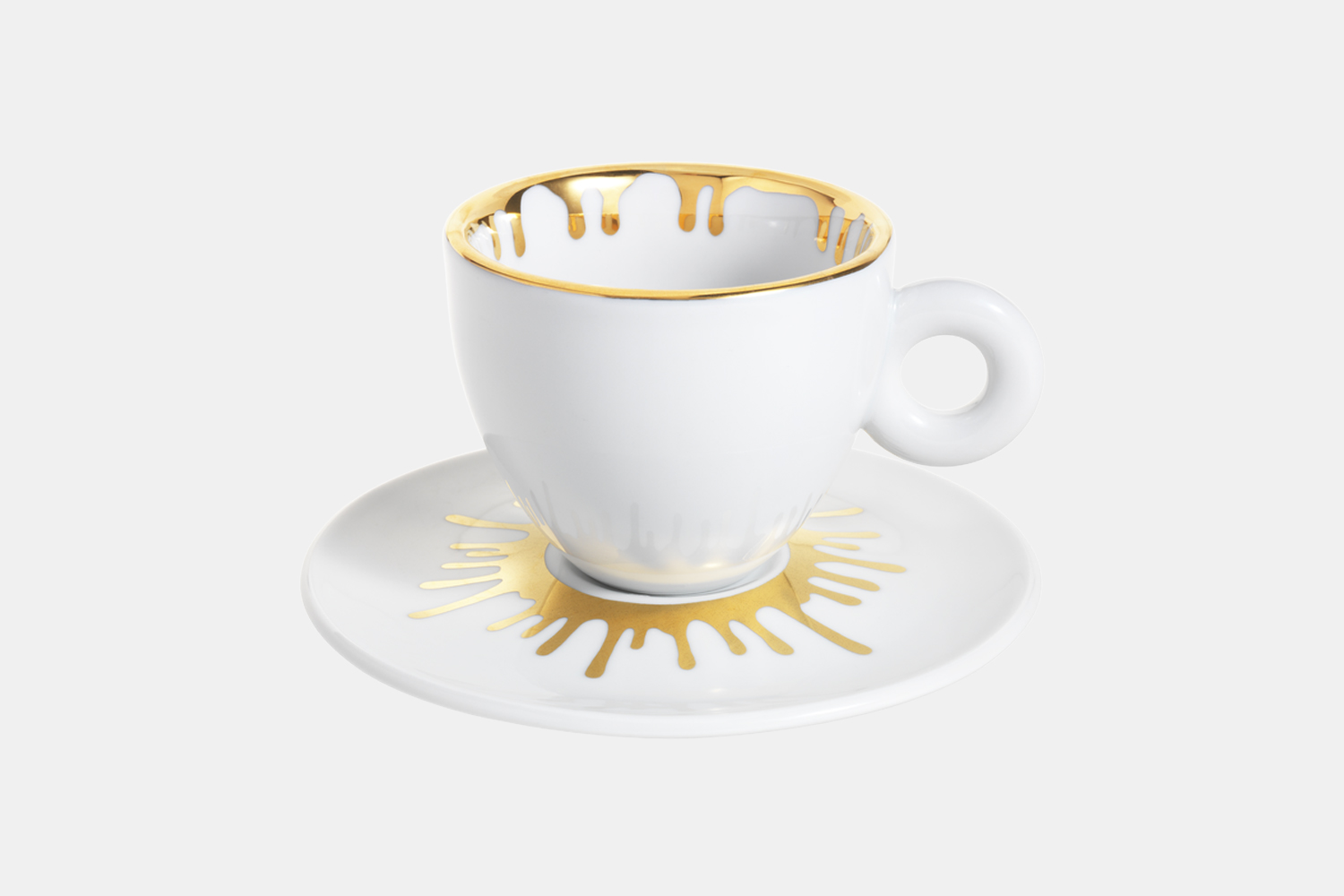 illy Art Collection Ai Weiwei Cappuccino Cups_