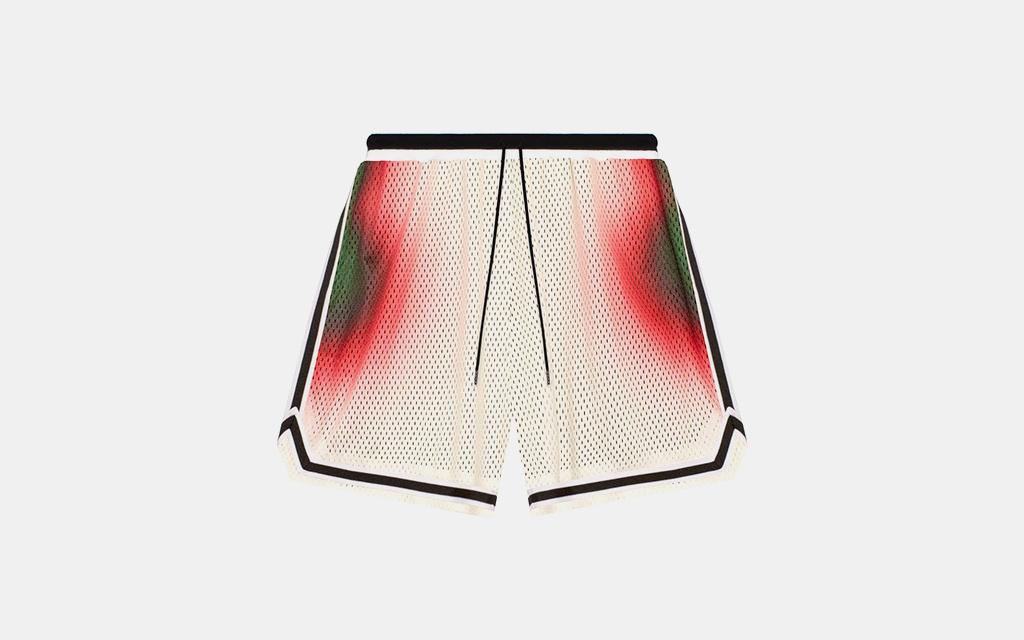 John Elliott Tie-Dye Track Shorts
