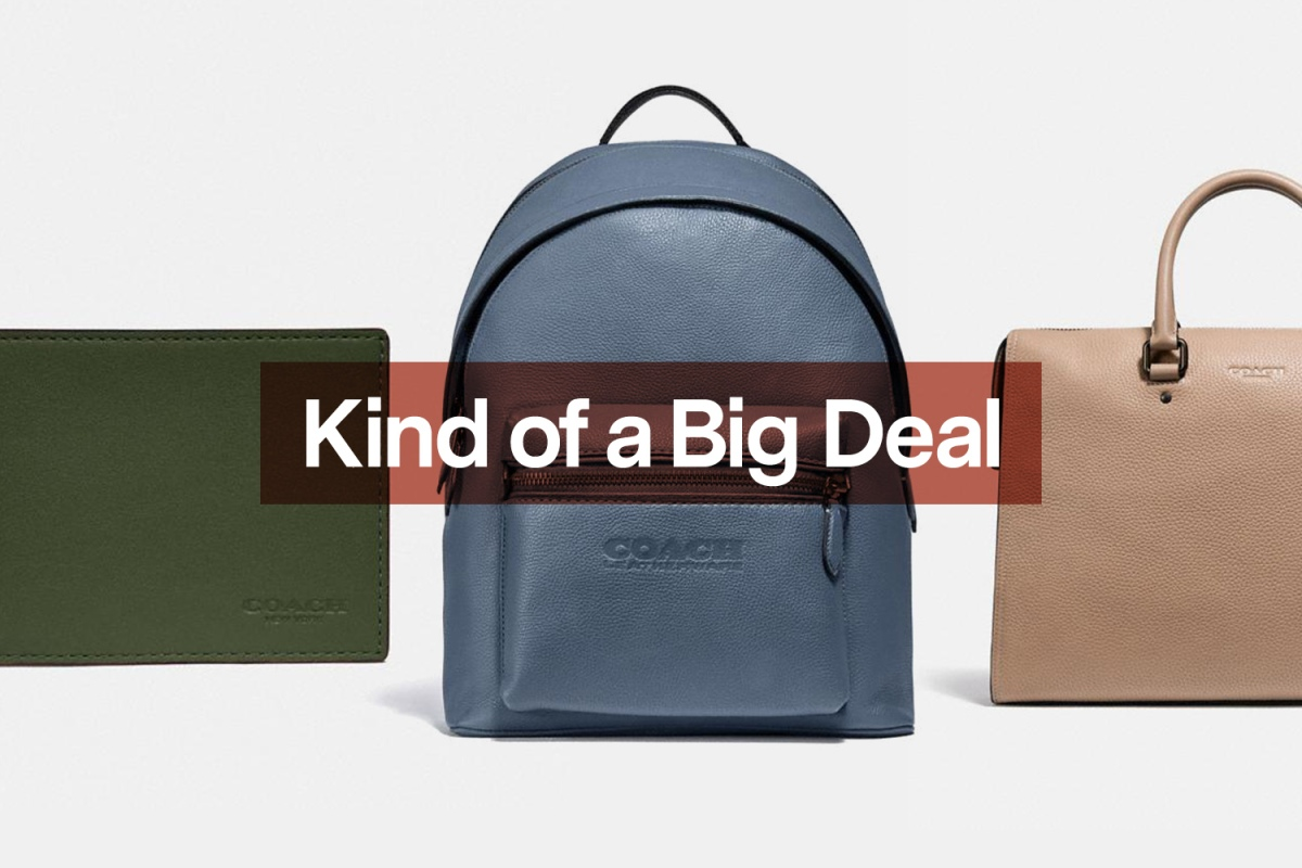 Coach Wallet, Backpack and Folio