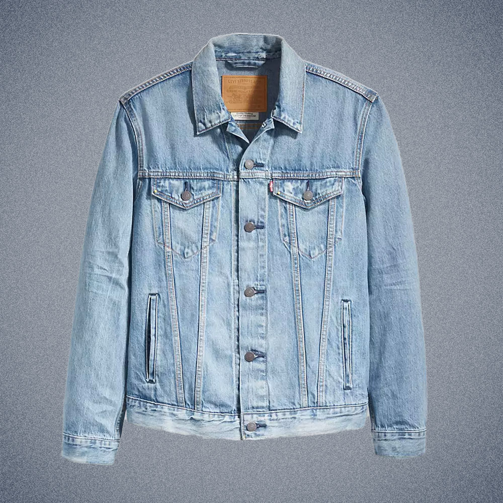 Levi's Light Wash Trucker Jacket
