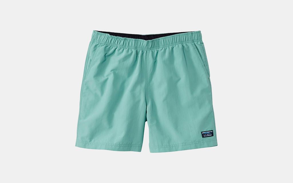 L.L.Bean Classic Supplex Sport Shorts