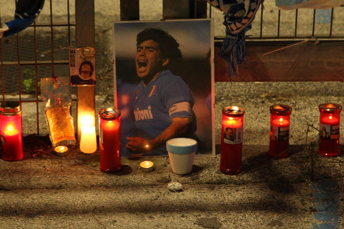A shrine for Diego Maradona