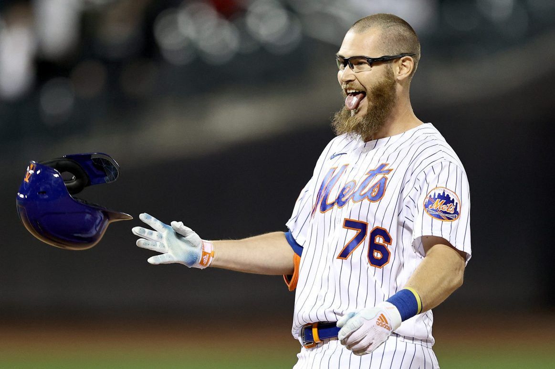NY Mets rookie Patrick Mazeika