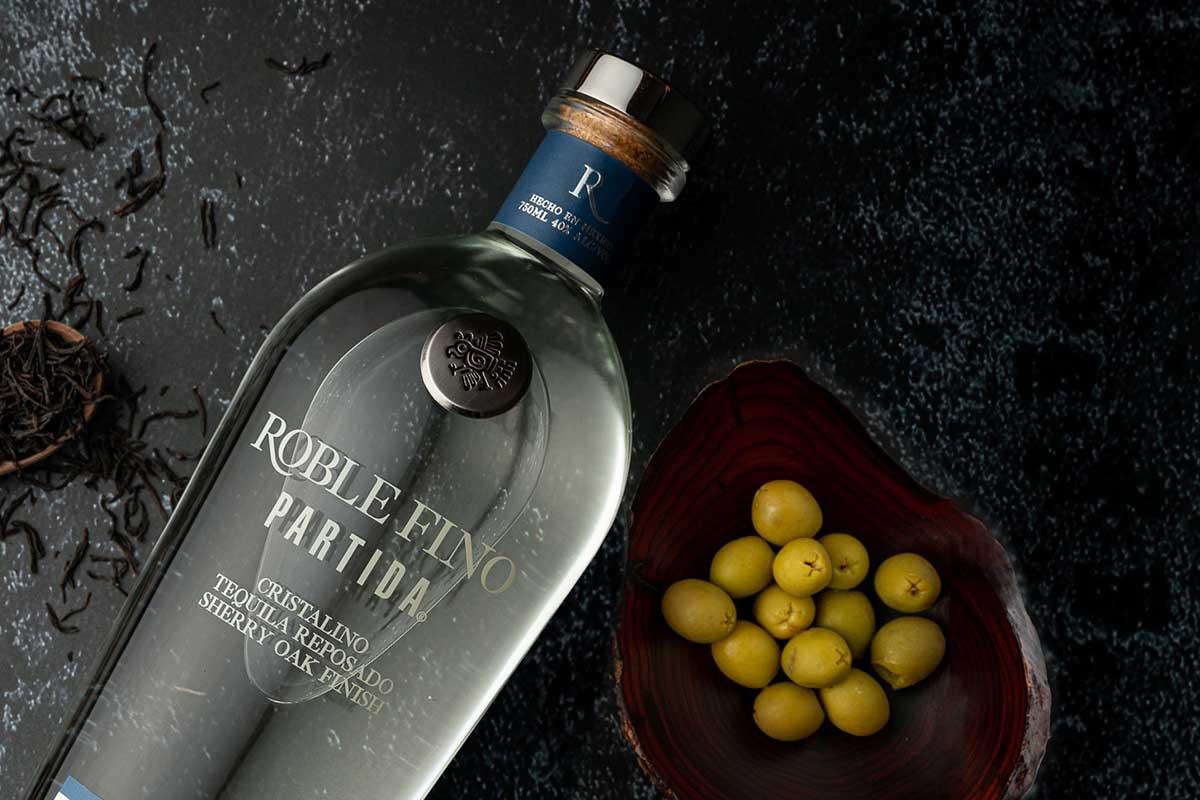 Tequila Partida Cristalino Reposado Sherry Oak Finish