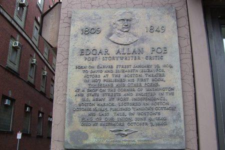 Poe plaque