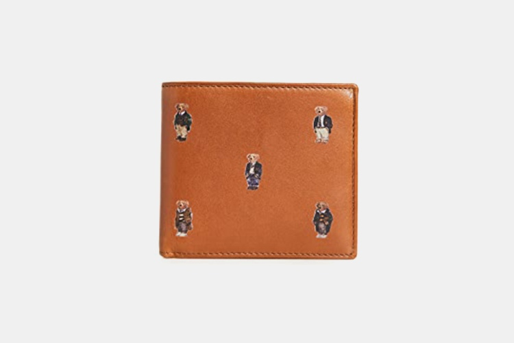 Polo Ralph Lauren Allover Bear Billfold