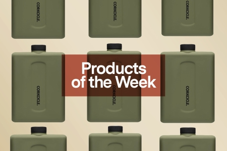 Products of the Week: Fancy Blenders, Flat Canteens and a Quaker Marine x David Coggins Collab