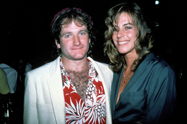 Robin Williams and wife Valerie Velardi circa 1979
