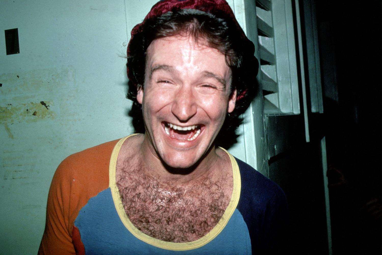 Robin Williams circa 1980 in New York