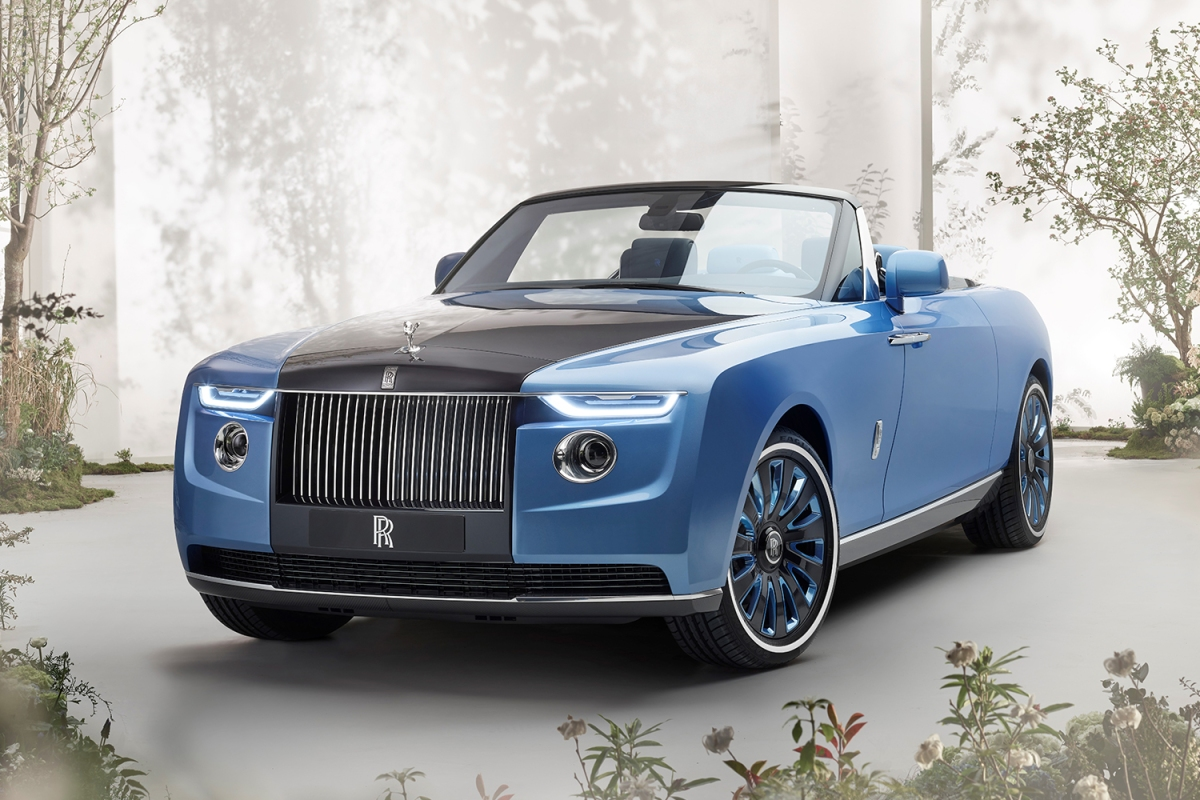 The Rolls-Royce Boat Tail, the first car in from the revived Coachbuild department