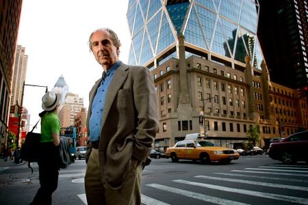 Philip Roth in New York City