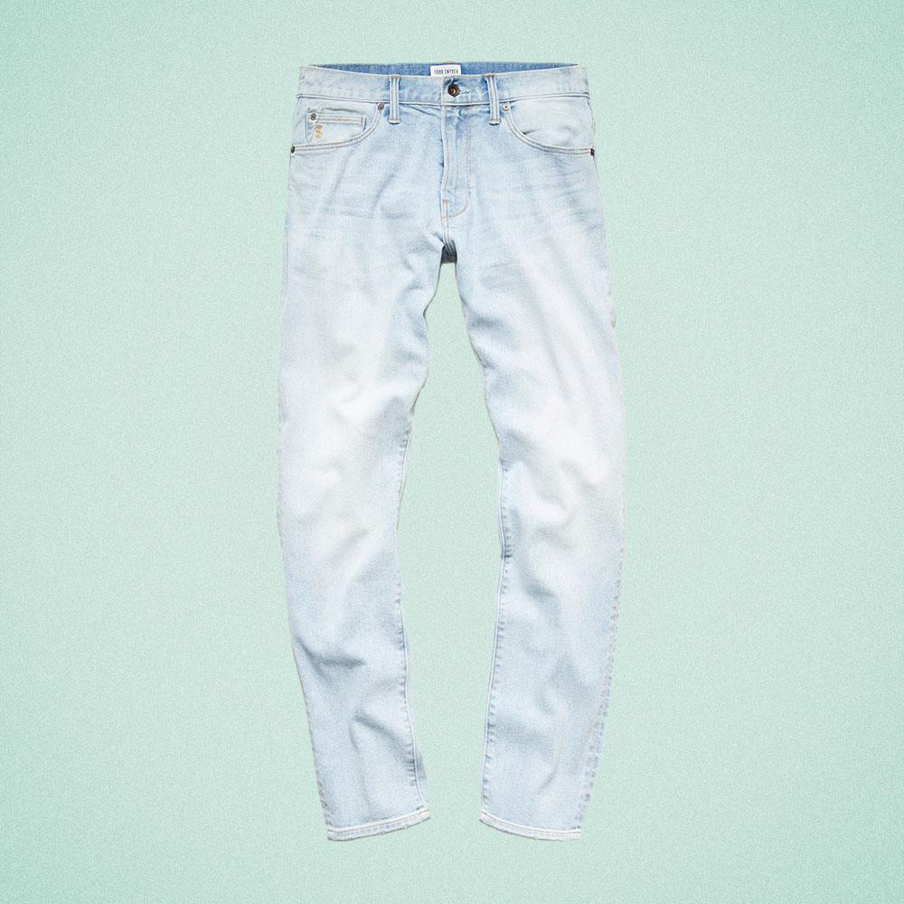 Todd Snyder Slim-Fit Stretch Jean in Bleachout Wash
