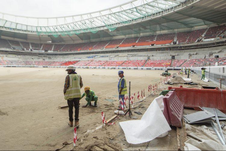 Al Rayyan Stadium in Qatar