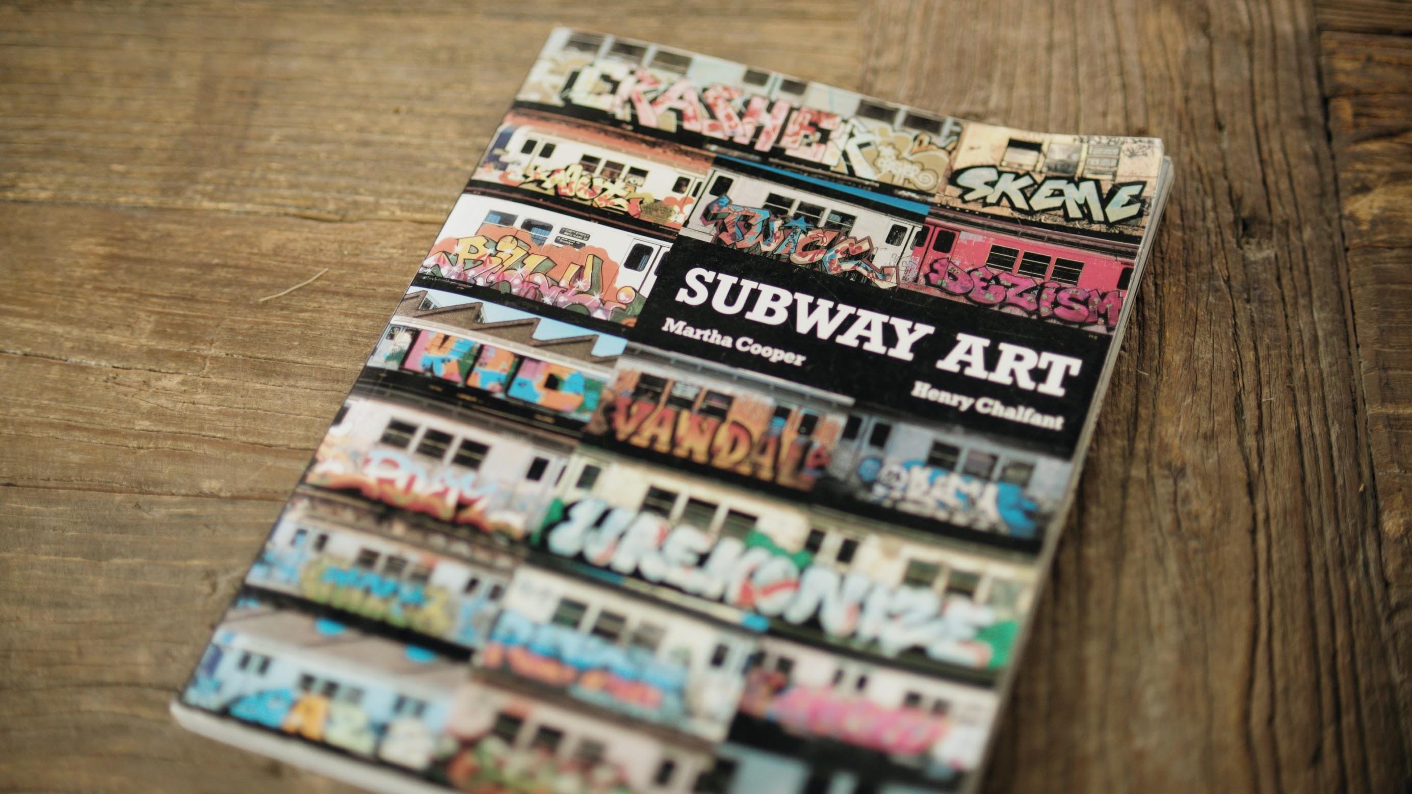 subway art by martha cooper