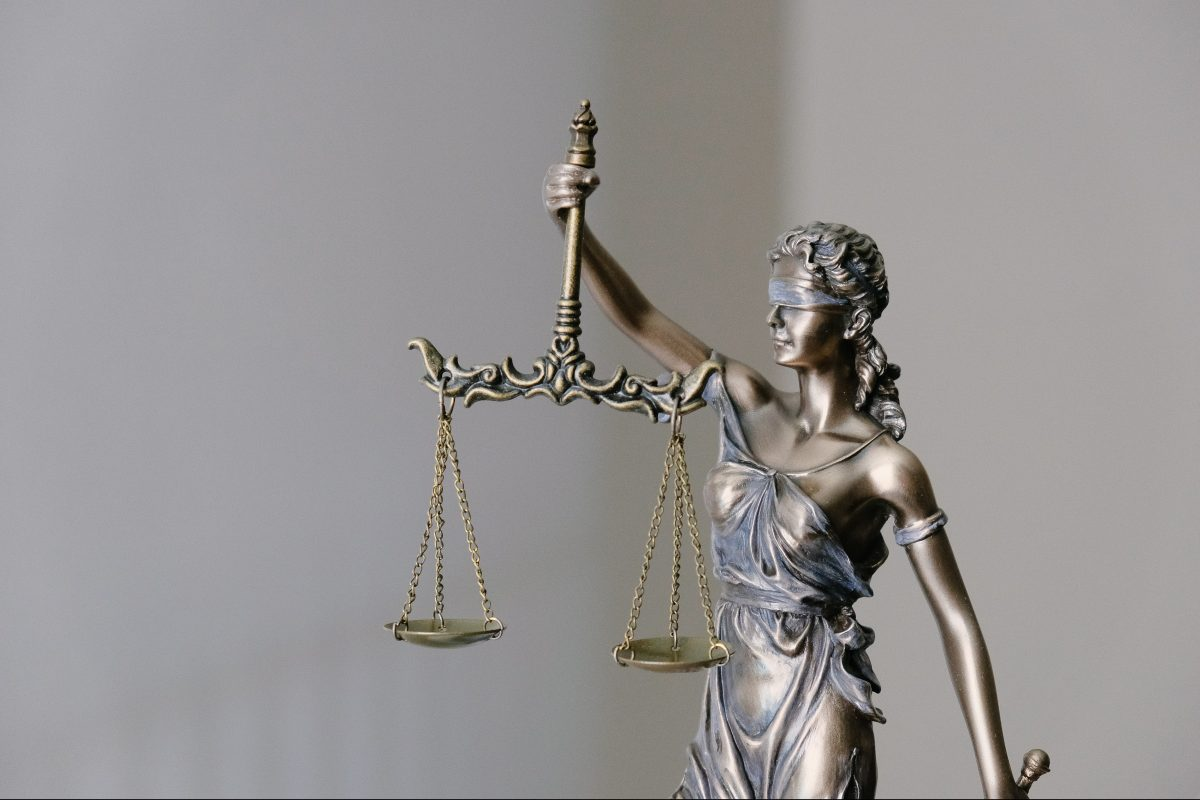 "The scales of justice. The latest ""Law & Order"" franchise will focus on a criminal defense firm."