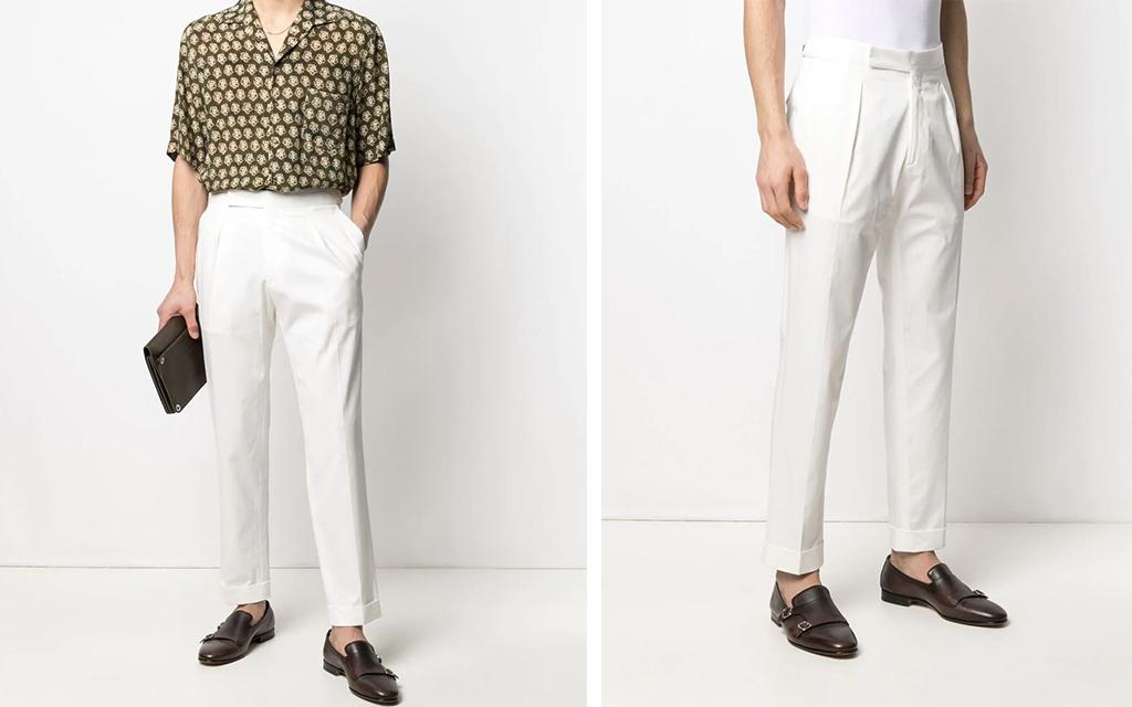 Briglia 1949 Straight-Leg Tailored Trousers