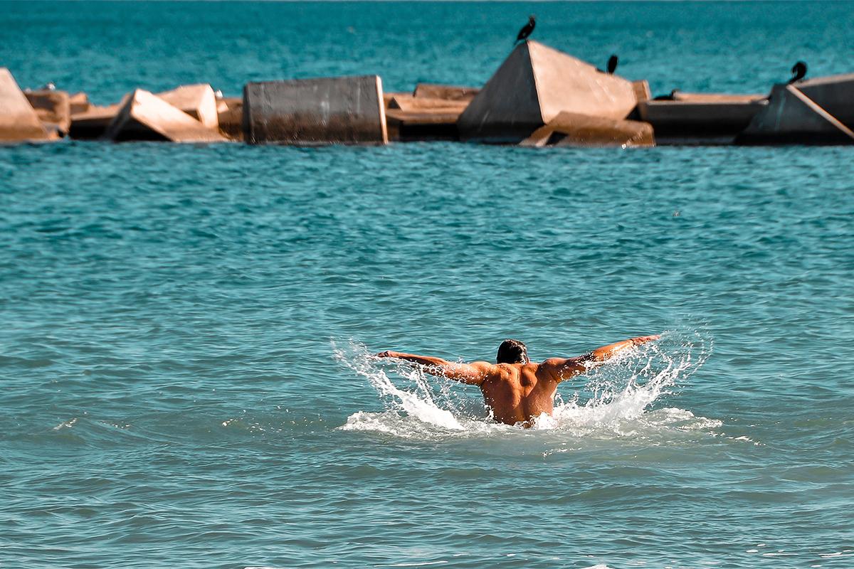 ocean swimming