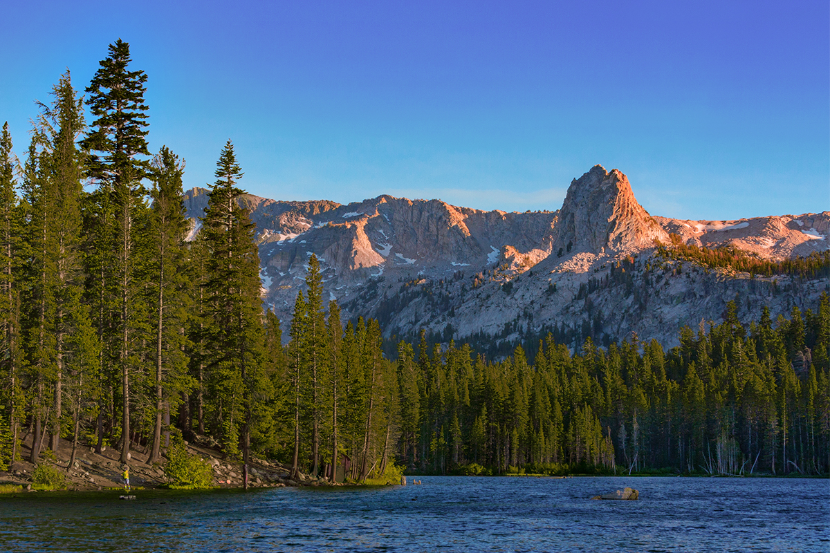 mammoth lakes running