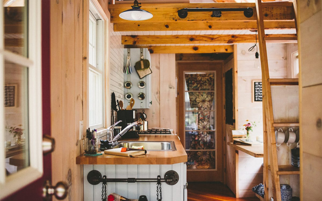 A Tiny Home in NoMich on Lake Michigan