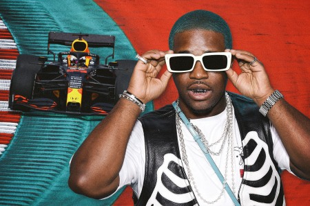 """""""F1 Needs More Black Racers"""": A$AP Ferg on Cars, Video Games and His Newfound Love of Racing"""