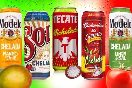 Canned micheladas