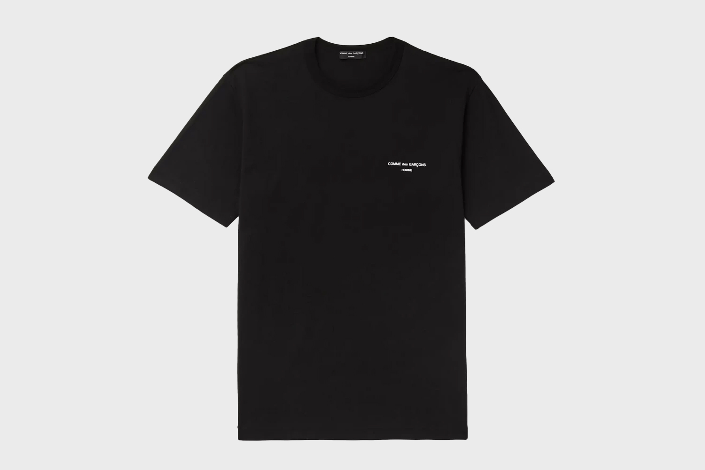 Comme des Garçons HOMME Logo-Print Cotton-Jersey T-Shirt