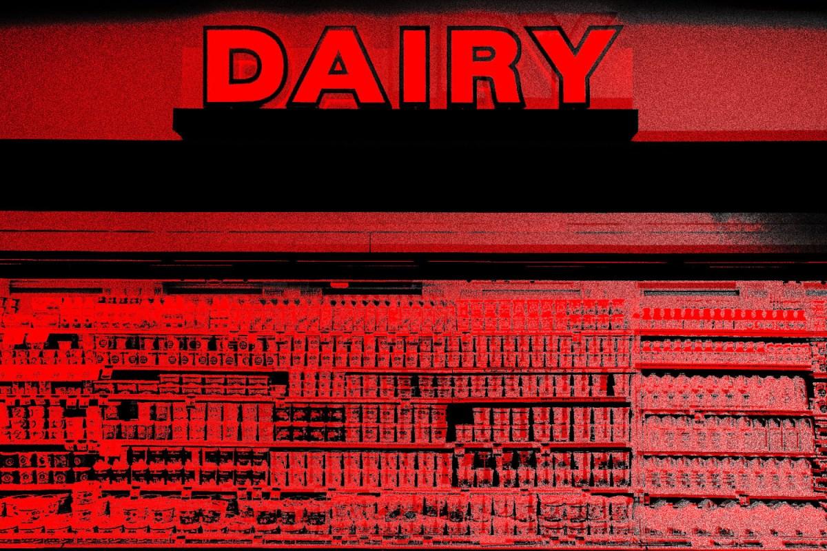 dairy wreaks havoc