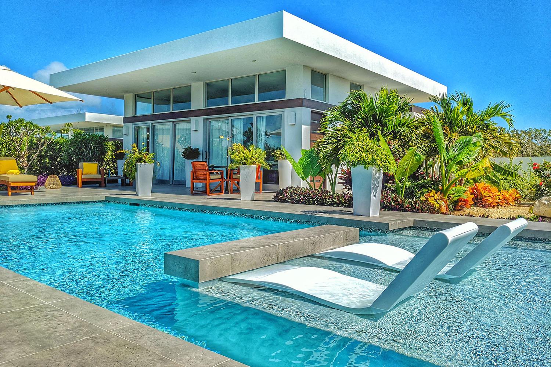 White Villas in Turks & Caicos