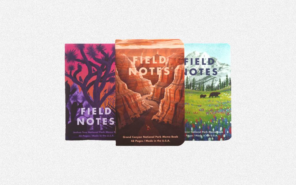 Field Notes National Parks Set