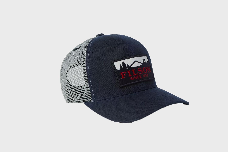 Filson Logo-Appliquéd Cotton-Twill and Mesh Baseball Cap