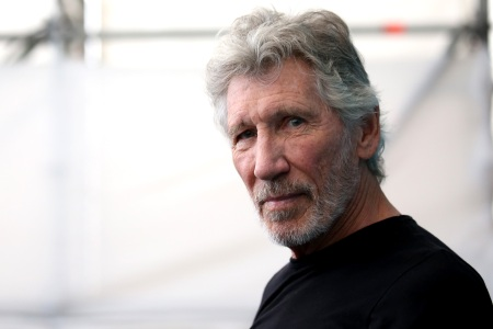 """Roger Waters attends the """"Roger Waters Us + Them"""" Photocall during the 76th Venice Film Festival at on September 06, 2019 in Venice, Italy."""
