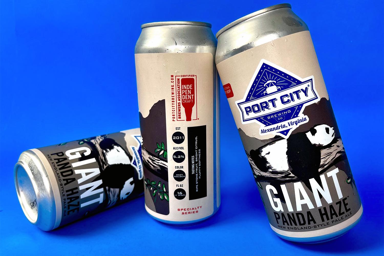 Port City Brewing's Giant Panda Haze