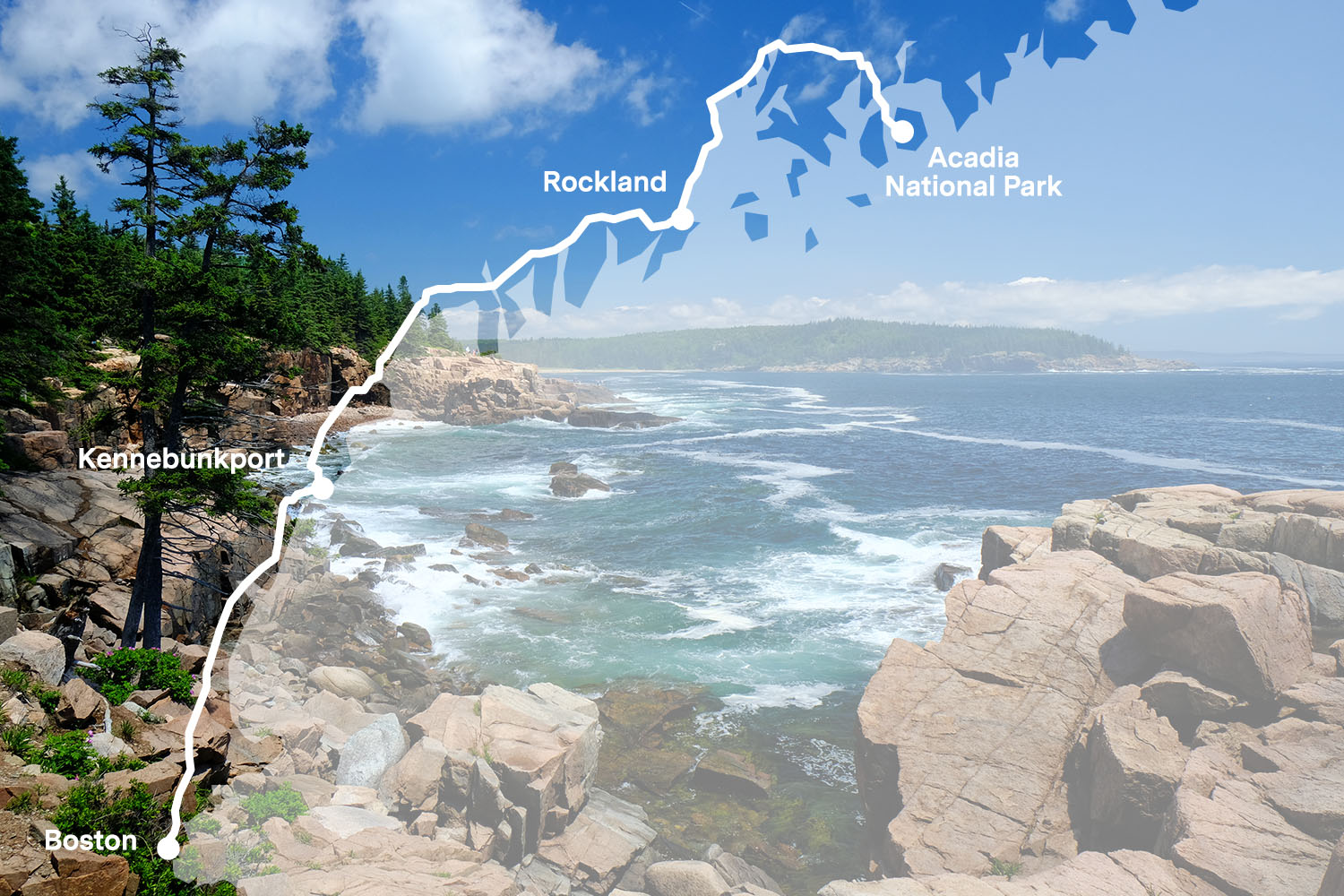 The Best Scenic Drive in New England is US 1 from Boston to Acadia National Park