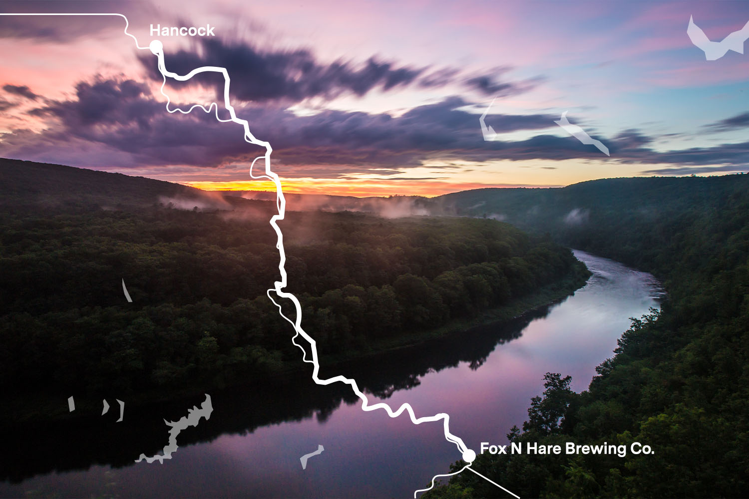 The Best Scenic Drive in the Tri-State Area is NY 97, The Hawk's Nest Highway